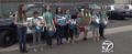 Troop 70319 show support for Redding Police Canine Unit