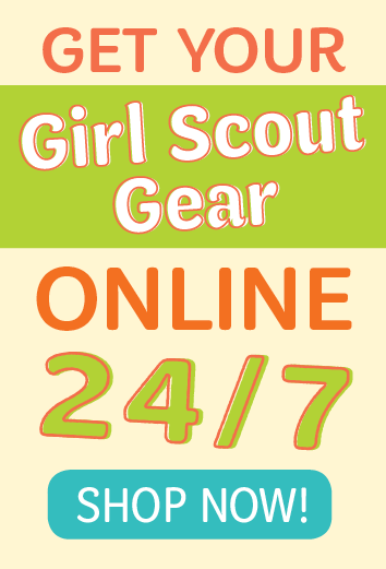 Get Your Girl Scout Gear Online 24/7