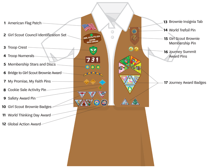 Brownie Uniform Guide