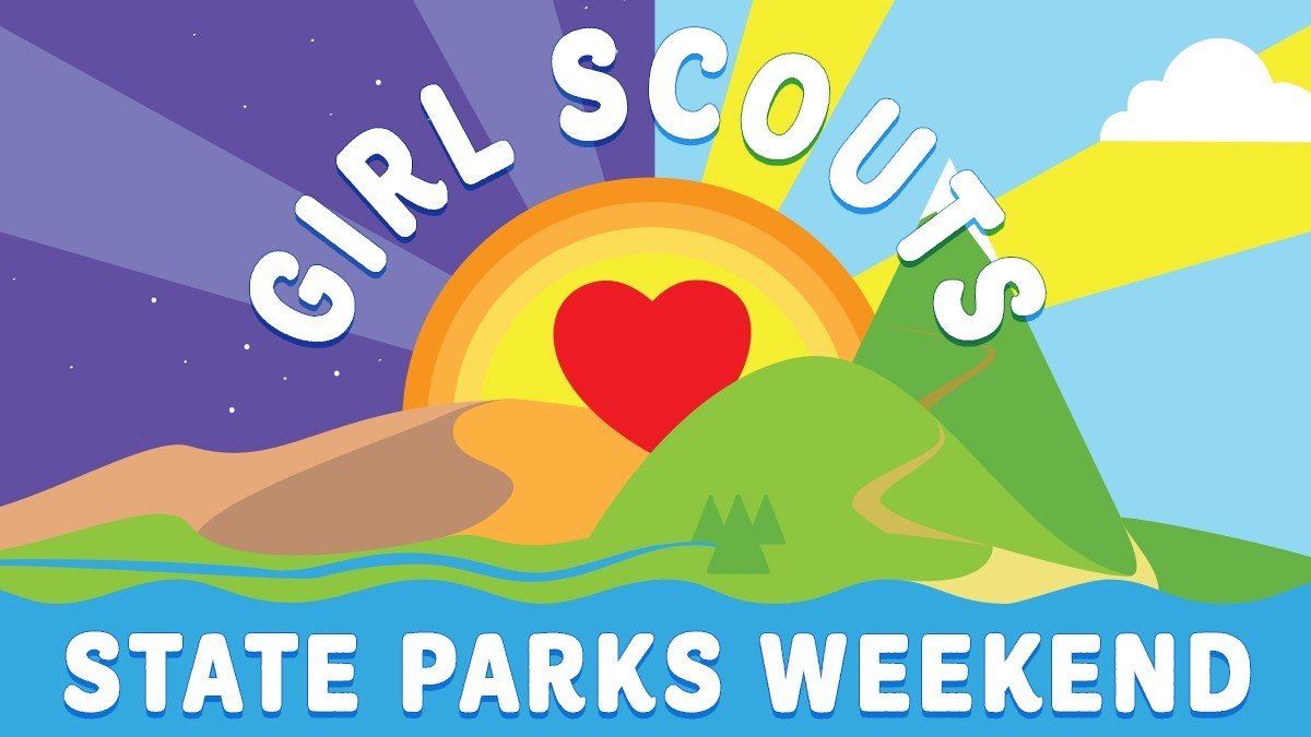 Girl Scouts Love State Parks Weekend