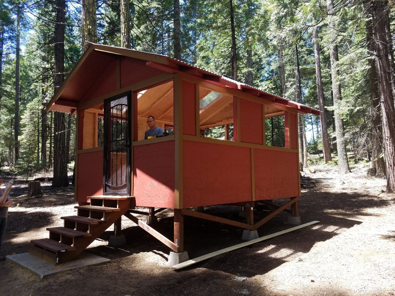 New Cabins at Skylark Ranch and Sugar Pine