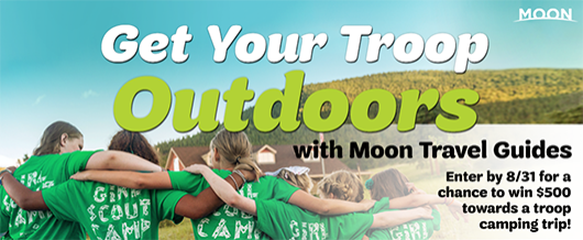 Get Your Troop Outdoors with Moon Travel Guides